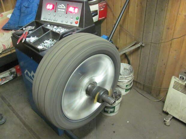 Какие обязательные процедуры выполняются при смене колес?