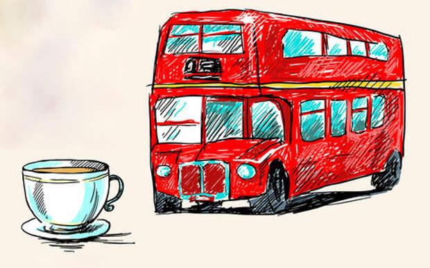Лондон переведет автобусы на... кофе!