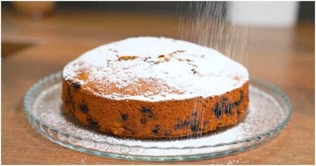 Пирог «Все смешал и в духовку» — идеальный вариант с любыми ягодами