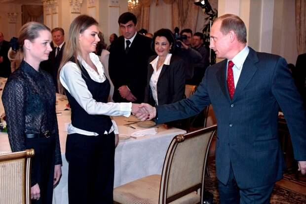 Владимир Путин и Алина Кабаева вместе фото