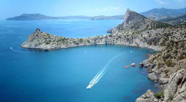 Температура воды в Чёрном море 8 июня
