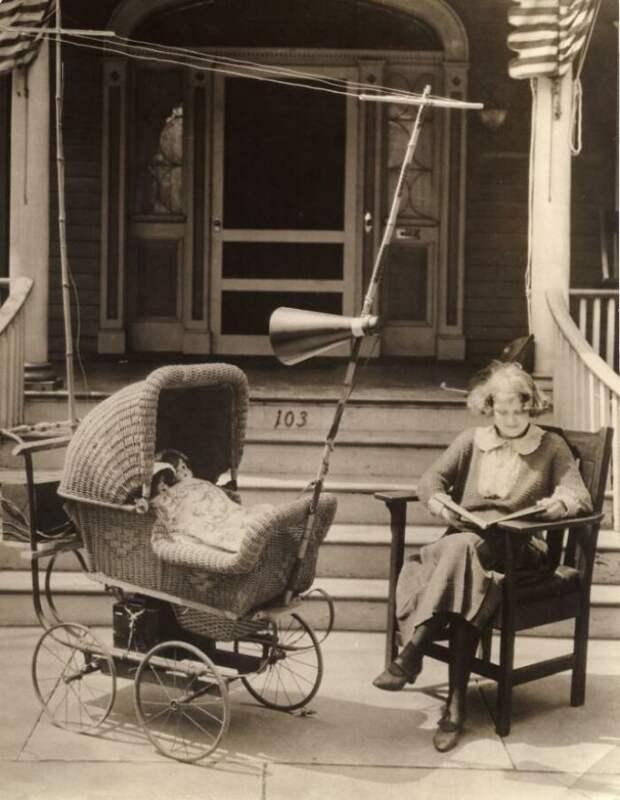 Коляска с радио, 1921