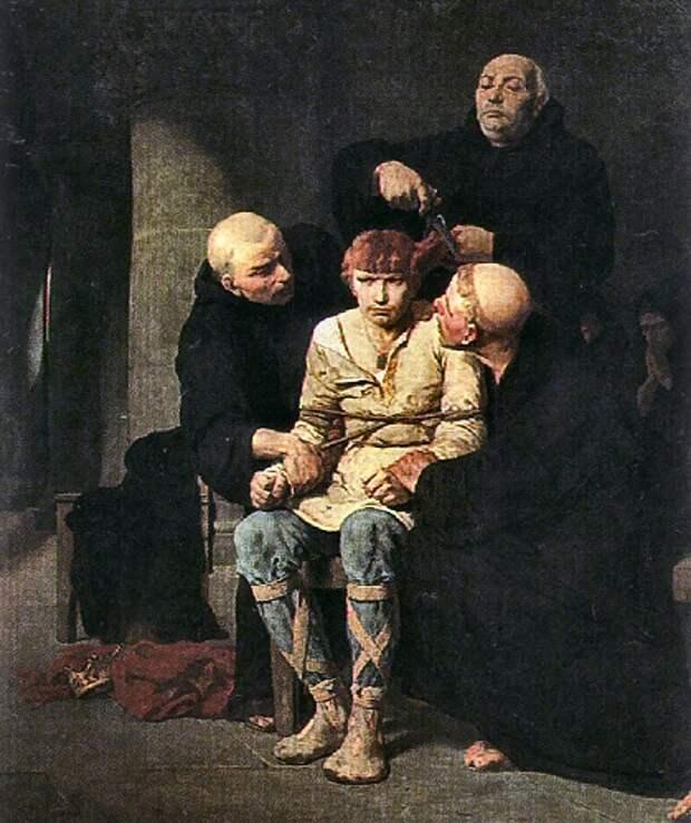 Почему всем знатным французам в средние века запрещали состригать волосы