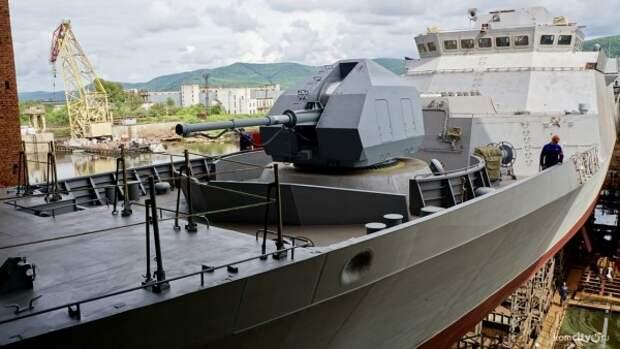 Новейший боевой корабль пройдет испытания в России