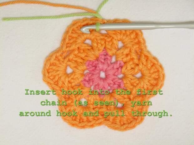 Цветочный фрагмент крючком АФРИКАНСКИЙ ЦВЕТОК для вязания игрушек (45) (700x525, 245Kb)