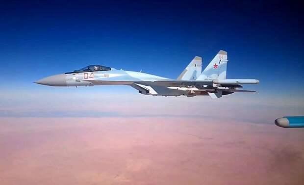 Российские Су-35 смогут достойно побороться с турецкими ВВС за небо Ливии