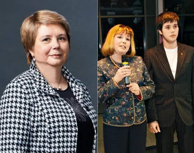 Галина Юрьевна Гагарина с сыном