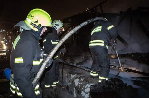 Пожарно-спасательному отряду № 205 исполнилось 11 лет