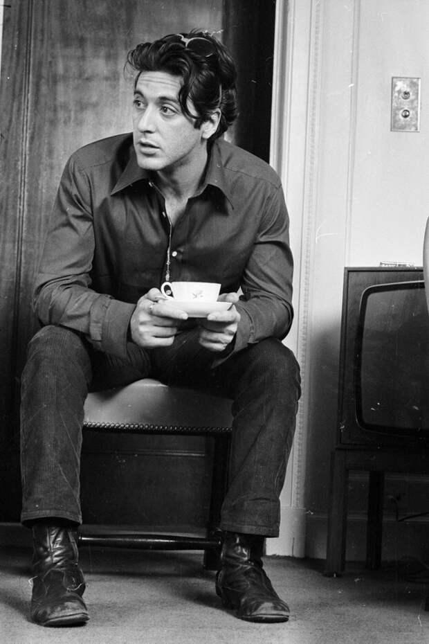 Аль Пачино в 1974-м