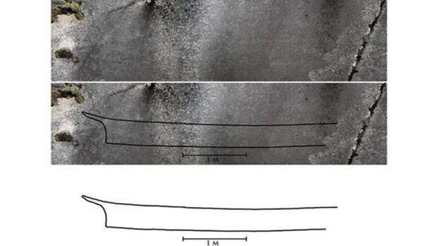 В северной Норвегии нашли древнейший рисунок лодки