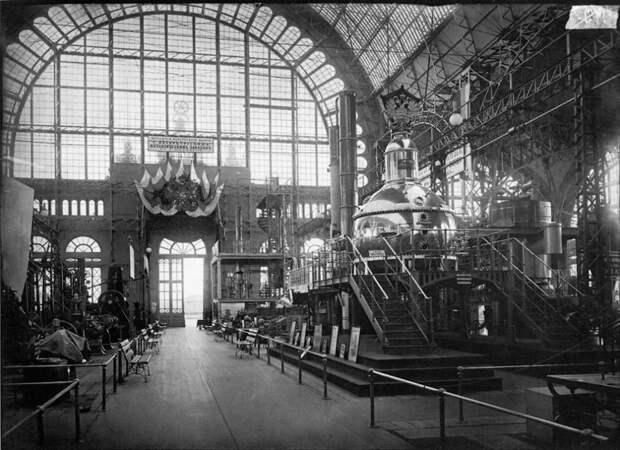 Машинный отдел Всероссийской художественно-промышленной выставки. 1896 г.