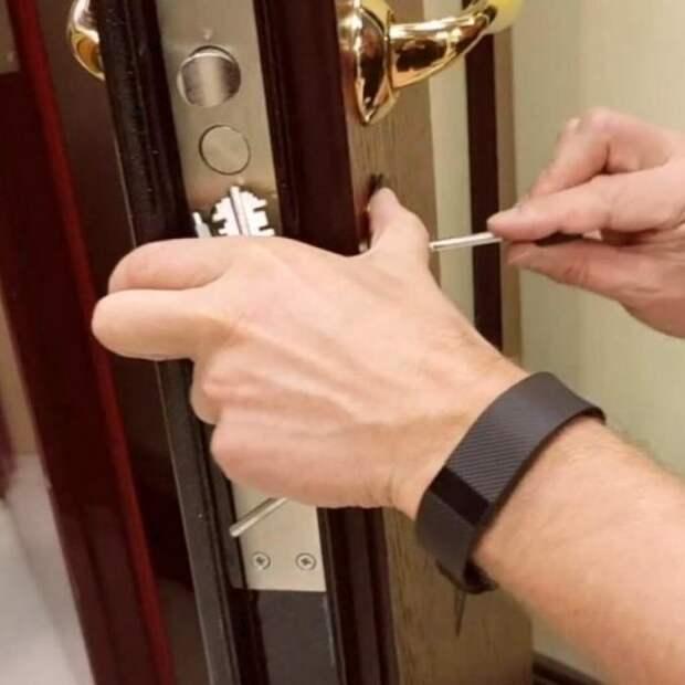 Замена замка входной двери