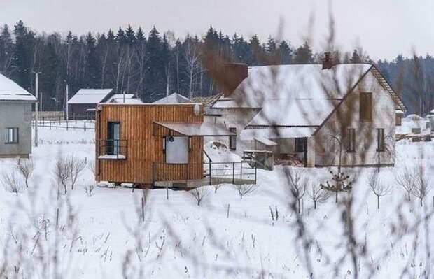 Самодельный уютный домик для отдыха