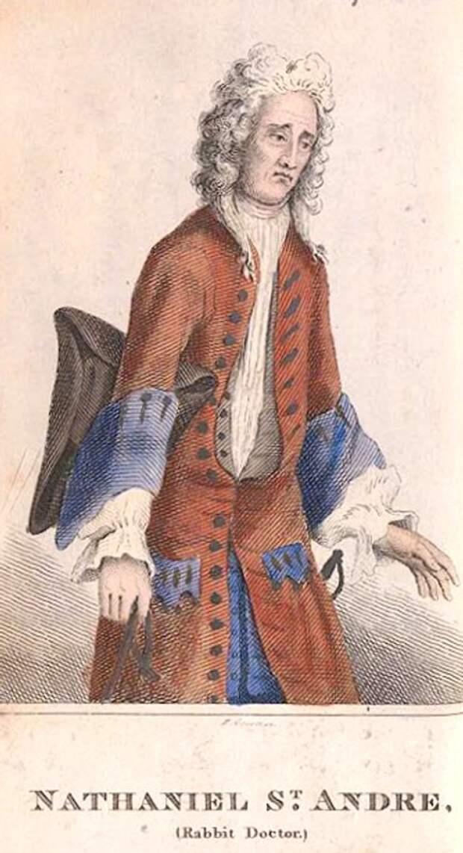 Натаниэль Сент-Андре, «кроличий доктор». <br>