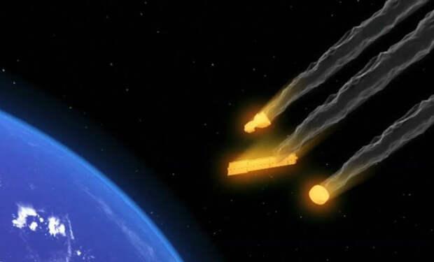 Точка Немо: кладбище космическких кораблей