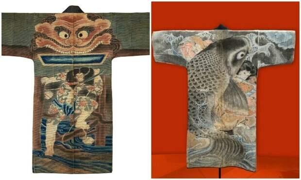 Одеяния японских пожарных 17−19 веков как отдельный вид искусства