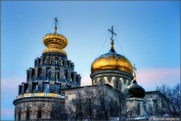 Рождественская история:   Русская Палестина на берегах реки Истры