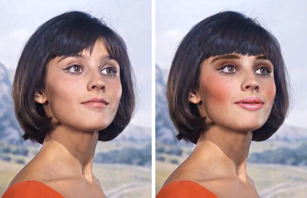 Как выглядели бы советские звезды, если бы их молодость пришлась на наши дни