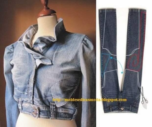 Очередная порция идей по переделке одежды