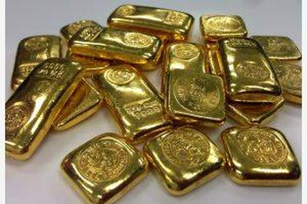 Поставки золота из России за полгода выросли в 7 раз