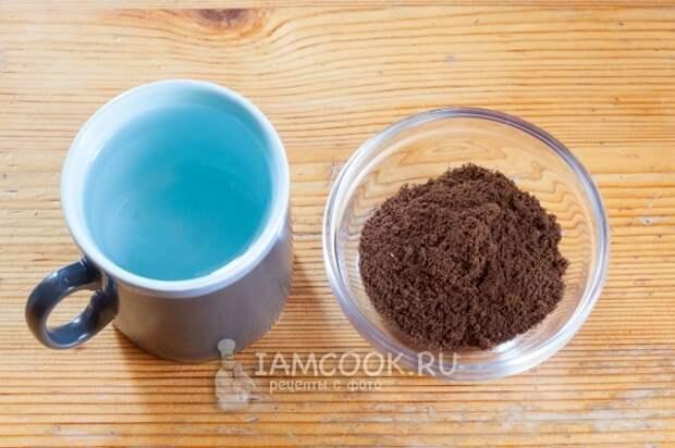 Ингредиенты для кофе Американо
