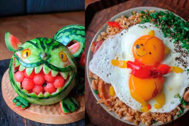 Мама создает удивительные блюда, которые понравятся любому ребенку