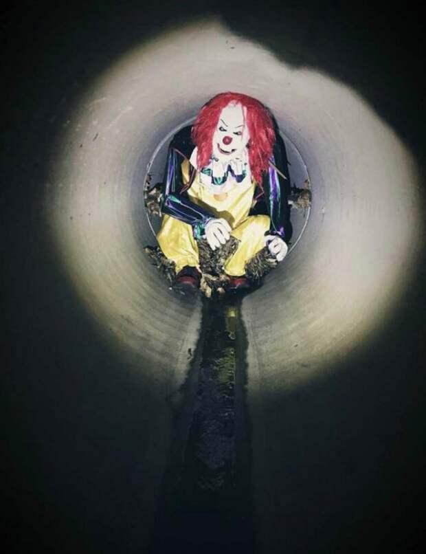 кукла клоуна