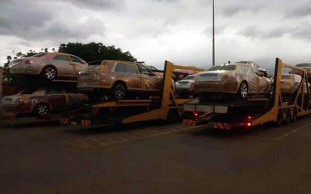 Зверский аппетит: африканский король купил 19 Rolls-Royce и 120 BMW