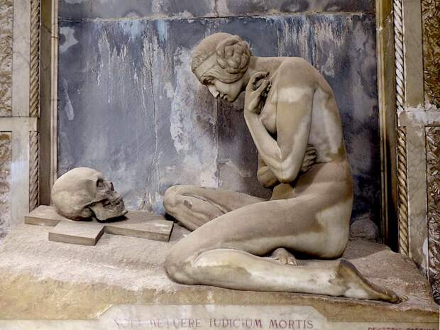 Искусство на кладбище