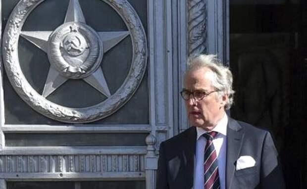 На фото: бывший посол Германии в России Рюдигер фон Фрич