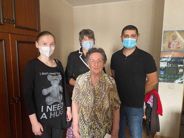 Жительница Марфина отметила свой 95-летний юбилей