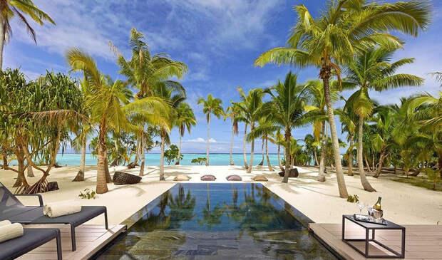 Частный остров Марлона Брандо воФранцузской Полинезии