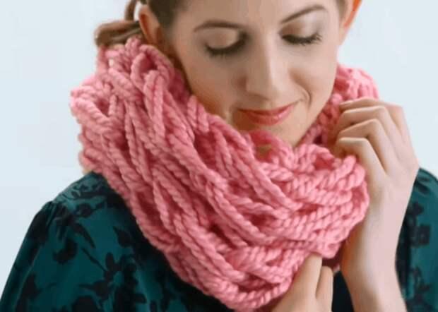 Вязание руками — креатив с потрясающим результатом