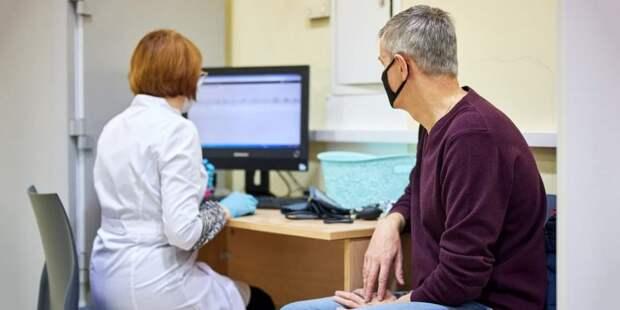 В Москве цифровой сервис поможет врачам спрогнозировать индивидуальные риски пациентов Фото: Ю. Иванко mos.ru