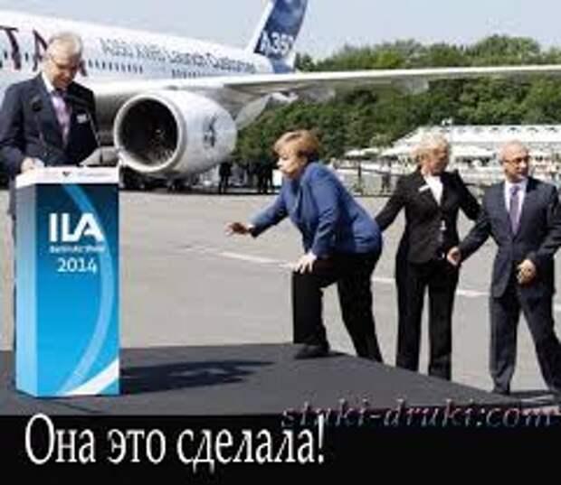 Ангелу Меркель освистали в Дрездене противники травли России