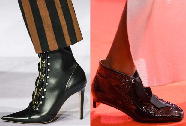 Модные женские ботильоны 2017-2018