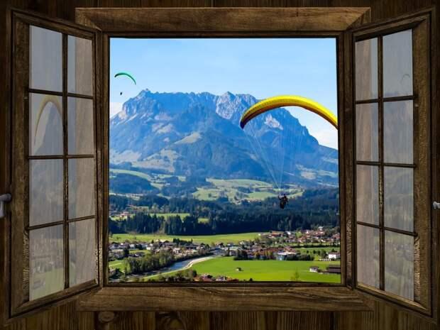 Панорама из окна
