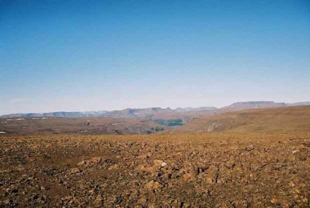 Загадочные каменные структуры плато Путорана.