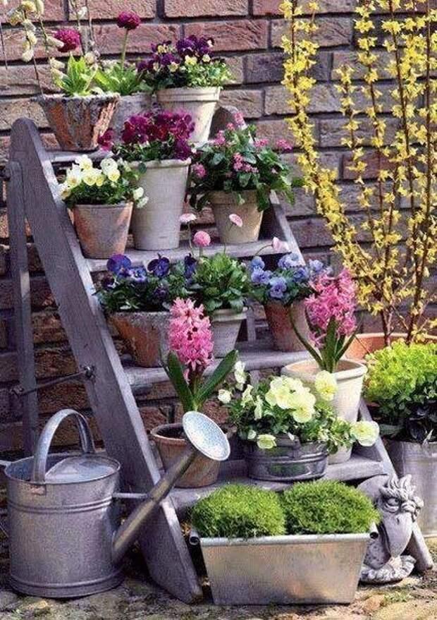 Отличные идеи для тех случаев, когда места мало, а красоты хочется!