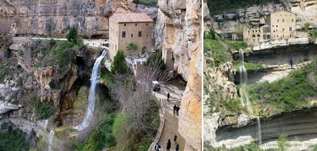 6. Сан Мигель Дель Фай (10-ый век), Каталония, Испания.