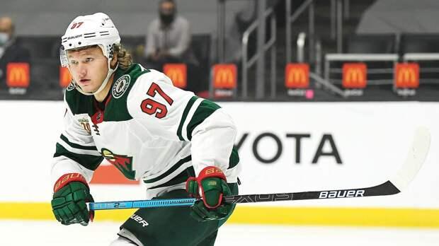 Капризов признан первой звездой недели в НХЛ