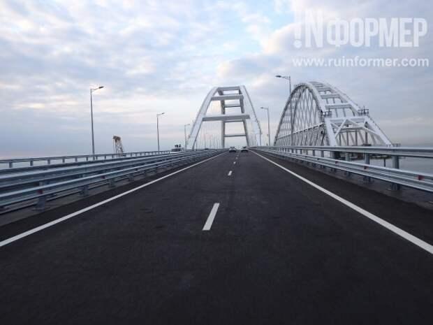 По Крымскому мосту одними из первых проехались журналисты «ИНФОРМЕРа». Как это было