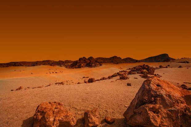 Марсианский бетон сделают из пота и слез астронавтов