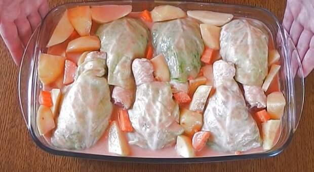 рецепт приготовления голубцов с мясом