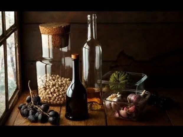 Чеснок и вино, мощное природное средство, которое лечит больше чем 100 болезней. Научитесь готовить его