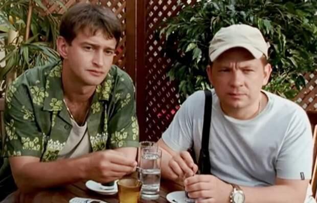Андрей Федорцов и Константин Хабенский в сериале *Убойная сила* | Фото: kino-teatr.ru