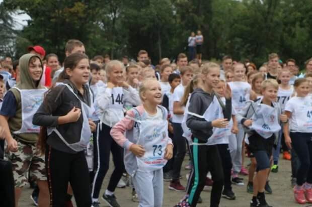 Некоторым детям стало не по себе во время соревнования «Кросс нации»