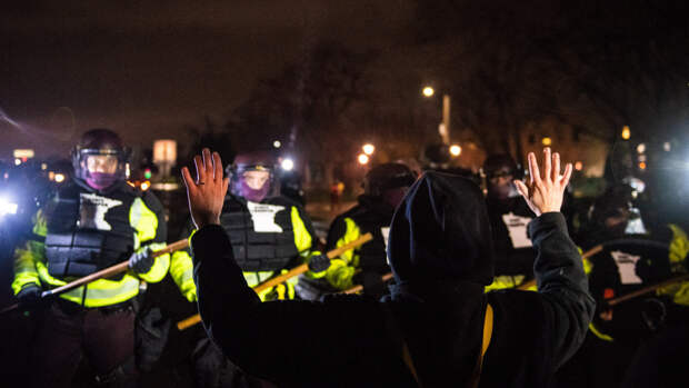 Правозащитники из ФБР Пригожина обратили внимание на убийство афроамериканца полицией США