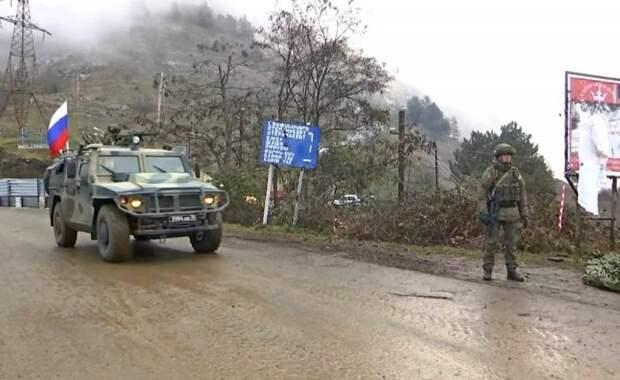 Миротворцы России подключились к поиску пропавшей роты армянских военных в Карабахе