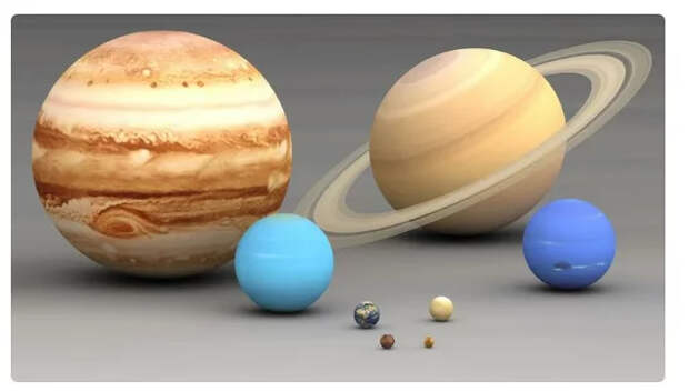 Солнечная система.Газовые гиганты Солнечная система, Планета, Газовый гигант, Космос, Длиннопост